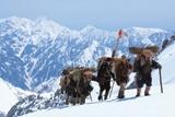 映画『劔岳 点の記』のワンカット (C)2009『劔岳 点の記』製作委員会