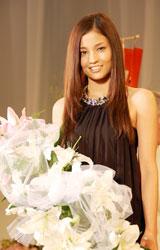 「この賞(『Ms. Lily 2009』)に負けないように、どんどん自分磨きをしていきたい」と抱負を語った黒木メイサ(C)ORICON DD inc.