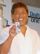サッポロビール「ドラフトワン」新CM発表会見に登場した清原和博 (C)ORICON DD inc.
