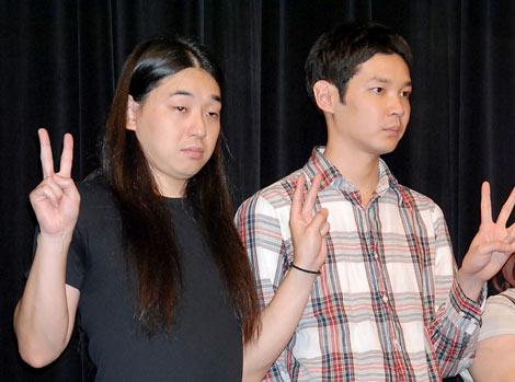 『神保町花月』の2周年記念キャンペーン会見に出席したPOISON GIRL BAND (C)ORICON DD inc.