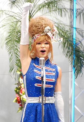 3rdシングル「はまぐりボンバー」の発売記念イベントを行った矢島美容室のナオミ (C)ORICON DD inc.