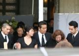 勝野洋、キャシー中島夫妻の長女・七奈美さんの告別式が執り行われた (C)ORICON DD inc.