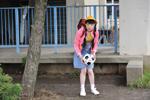 「小学生時代のリアル千明」と驚いたランドセル姿(C)『土俵際のアリア』プロジェクト2009