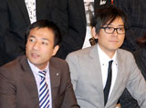 『M-1グランプリ2009』の記者会見に出席したナイツ (C)ORICON DD inc.