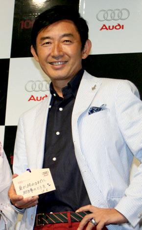 サムネイル 新車「アウディA5カブリオレ」の発表記念パーティーに出席した石田純一 (C)ORICON DD inc.