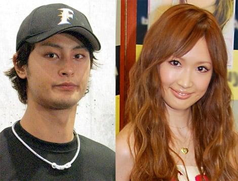 サムネイル (左から)ダルビッシュ有、紗栄子夫人 (C)ORICON DD inc.