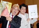 コンビ揃って結婚会見を開いたサンドウィッチマン(左から伊達みきお、富澤たけし) (C)ORICON DD inc.
