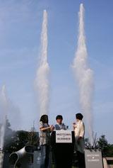 高さ60メートルの水花火 (C)ORICON DD inc.