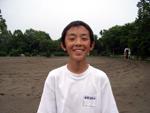 騎手志望の室井斗汰(栃木県・中2)「馬に乗るシーンもあるかもしれないので、とても楽しみです」