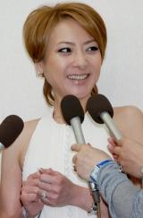 結婚報告会見を行った西川史子 (C)ORICON DD inc.