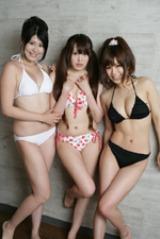 2WIN/(左から)本間晴圭、岡本果奈美、白川桃