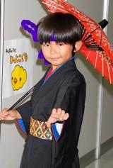 NHK『みんなのうた』記者会見に出席した、加藤清史郎 (C)ORICON DD inc.