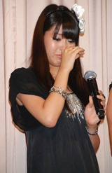 映画『アンを探して』完成披露試写会に出席した、穂のか (C)ORICON DD inc