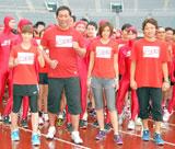 『THE FUMAN RACE 10K 2009 Kick Off Event』の様子(C)ORICON DD inc.