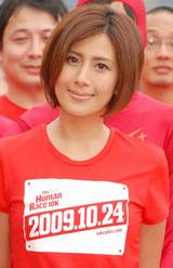 『THE FUMAN RACE 10K 2009 Kick Off Event』に出席した長谷川理恵(C)ORICON DD inc.