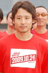 『THE FUMAN RACE 10K 2009 Kick Off Event』に出席した田臥勇太(C)ORICON DD inc.