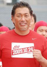 『THE FUMAN RACE 10K 2009 Kick Off Event』に出席した清原和博(C)ORICON DD inc.