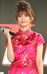 映画『レッドクリフPARTII』DVD&BD発売直前イベントに出席した、優木まおみ (C)ORICON DD inc.