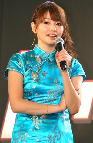 映画『レッドクリフPARTII』DVD&BD発売直前イベントに出席した、眞鍋かをり (C)ORICON DD inc.