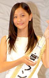 『国民的美少女』グランプリ&モデル部門をW受賞した工藤綾乃さん (C)ORICON DD inc.