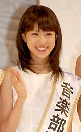 『第12回全日本国民的美少女コンテスト』で音楽部門賞を受賞した栂野理紗子さん (C)ORICON DD inc.