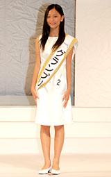 『第12回全日本国民的美少女コンテスト』でグランプリ&モデル部門賞を受賞した工藤綾乃さん (C)ORICON DD inc.