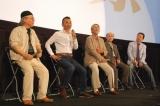 『銀河鉄道999映画祭』に出席した、(左から)松本零士、りん・たろう監督、企画を務めた高見義雄氏、音楽を手がけた青木望氏、タケカワユキヒデ (C)ORICON DD inc.