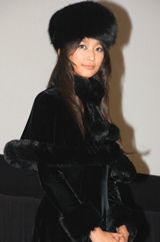 『銀河鉄道999映画祭』にメーテルの衣装で登場した、杏 (C)ORICON DD inc.