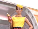 『TEAS'TEA ベルガモット&オレンジティー』CMでCAに扮する水川あさみ
