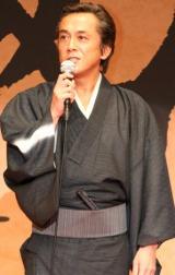 映画『火天の城』完成記者会見に出席した、寺島進 (C)ORICON DD inc.
