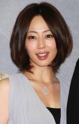 NHK土曜時代劇『オトコマエ!2』試写会後会見に応じた、井上和香 (C)ORICON DD inc.