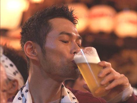 『キリン一番搾り生ビール』新CMで祭りに飛び入り参加するイチロー