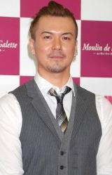 舞台『ムーラン・ドゥ・ラ・ギャレット』制作発表会に出席した、主演の米倉利紀 (C)ORICON DD inc.