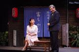 『斎藤幸子』公開舞台稽古を行った、斉藤由貴 撮影:御堂義乗