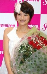 イベント『Seventeen 夏の学園祭2009』を最後にファッション雑誌『Seventeen』の専属モデルを卒業した、榮倉奈々 (C)ORICON DD inc.