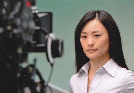サムネイル TBCのCMに出演する上村愛子選手