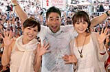 槇原敬之(中央)とEarly Morning(左から中野美奈子、高島彩アナウンサー) (C)フジテレビジョン