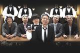 """新CMに出演する""""薄毛芸人""""5人とサラサラヘアーの蛍原"""