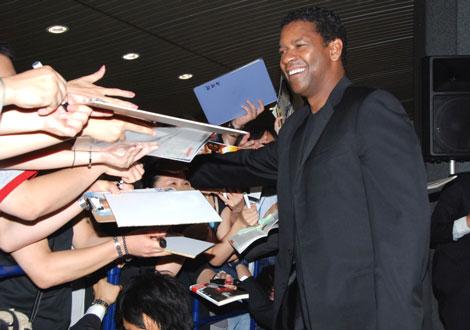 映画『サブウェイ123 激突』のイベントに出席した、デンゼル・ワシントン (C)ORICON DD inc.