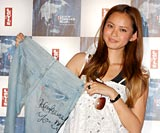 『Levi's Forever Blue 09 Fall Campaign Launch Party』にゲストで来場した比留川游 (C)ORICON DD inc.