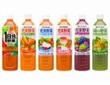 原料野菜の国産品目数を増やす、伊藤園の主要野菜飲料6種