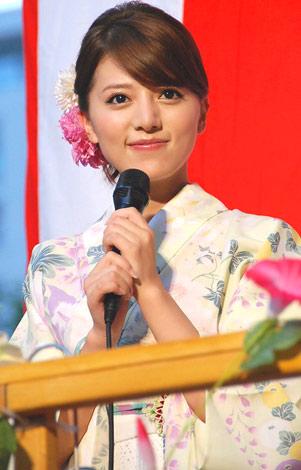 映画『BALLAD 名もなき恋のうた』の盆踊りイベントで、浴衣姿を披露したalan (C)ORICON DD inc.