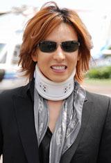 X JAPANのYOSHIKI (C)ORICON DD inc.