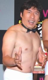 DVD『リアクションの殿堂』発売記念イベントに登場した、ダチョウ倶楽部・寺門ジモン (C)ORICON DD inc.