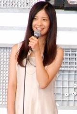 イベント『フジテレビお台場合衆国 めざましライブmeet恋時雨』のトークショーに登場した、吉高由里子 (C)ORICON DD inc.