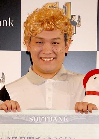 サムネイル 『S-1バトル』8月度チャンピオンに輝いたCOWCOWの山田與志