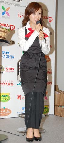 野菜ソムリエ・山口もえのトークの模様 (C)ORICON DD inc.