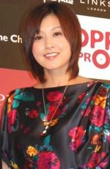 "『""Smile Please!""×OPPAI PROJECT 写真展』トークイベントに出席した、藤原紀香 (C)ORICON DD inc."