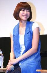 映画『キラー・ヴァージンロード』試写会前舞台あいさつに参加した、上野樹里 (C)ORICON DD inc.