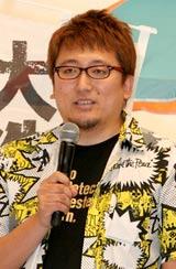 映画『大洗にも星はふるなり』の記者会見に出席した福田雄一監督